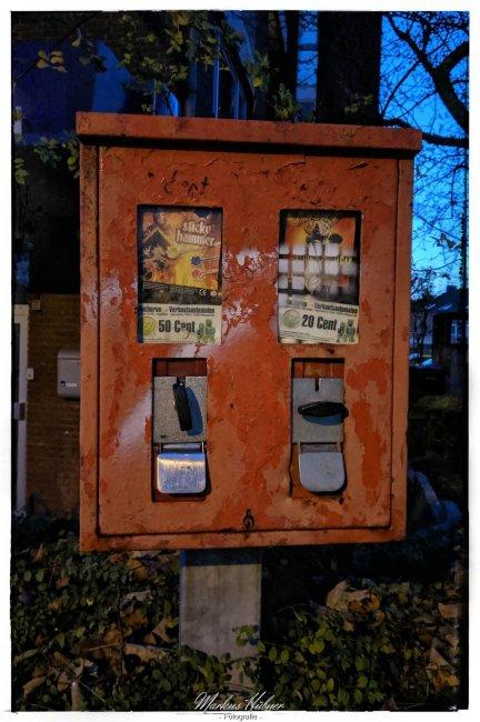 11.11.2019: Kaugummiautomat.
